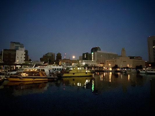 渡辺 篤/2020.08.04 04:19/横浜市中区、象の鼻桟橋