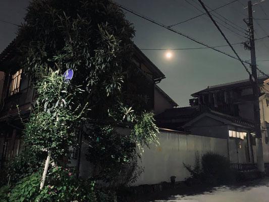 堂後ミカ/2020.08.03 21:45/大阪市城東区帰宅途中