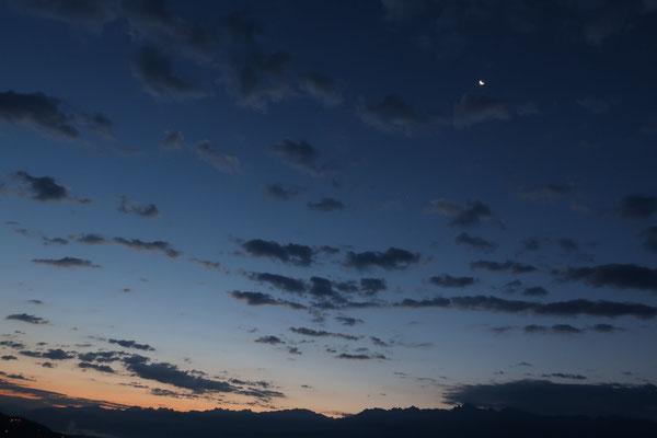 marmotte/2020.08.14 06:14/フランス、グルノーブル、山の上