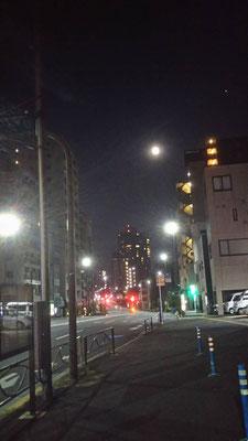 りえ&ゆうき/2020.06.10 00:39/東京都、春日通り