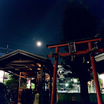堂後ミカ/2020.08.03 21:35/大阪市城東区帰宅途中