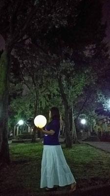 りえ&ゆうき/2020.10.13 00:28/東京、文京区立大塚公園