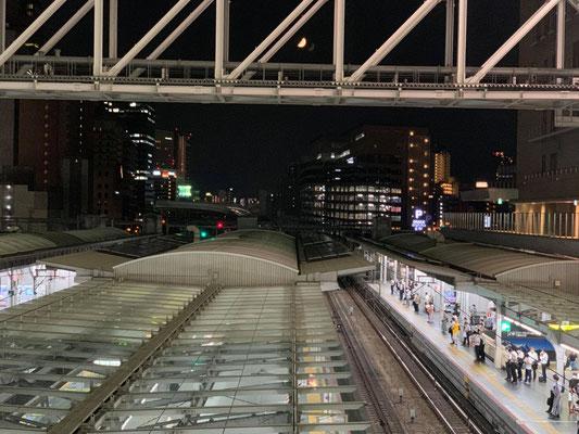 堂後ミカ/2020.08.25 21:41/JR大阪駅