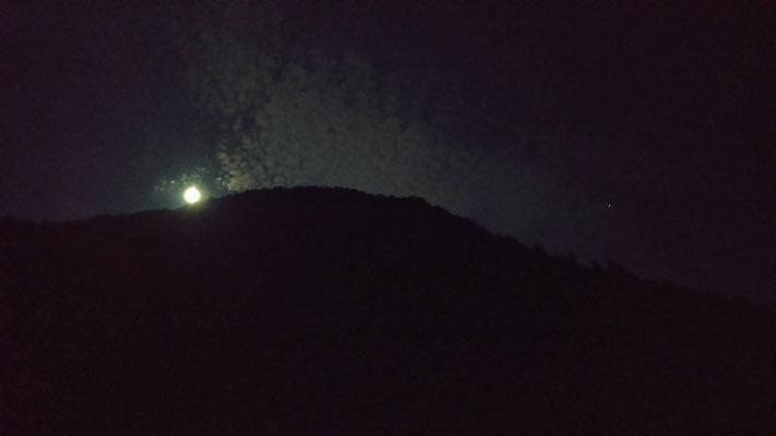 りえ&ゆうき/2020.08.04 23:25/東京、奥多摩・鳩ノ巣渓