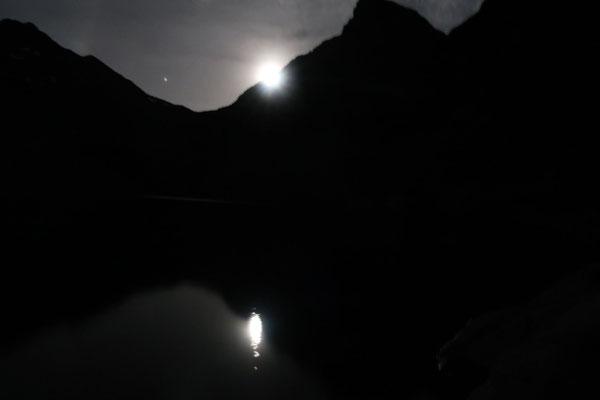 marmotte/2020.07.05 00:01/フランス、ベルドンヌ、クロゼ湖