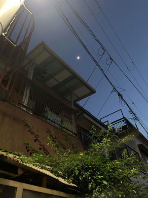 堂後ミカ/2020.05.29 19:30/大阪府豊中市 実家前で