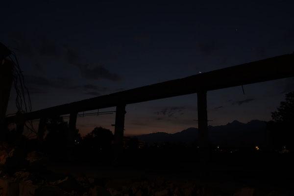 marmotte/2020.09.15 06:47/フランス、サン・マルタン・デール、工場跡