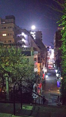 りえ&ゆうき/2021.02.27 18:44/東京、湯島天満宮