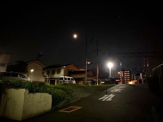堂後ミカ/2020.08.03 21:35頃/大阪市城東区帰宅途中