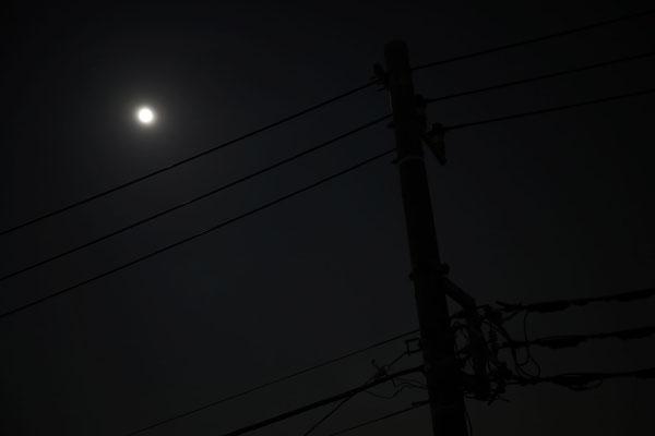 たかはしじゅんいち/2020.10.01 21:05/我が家(日野市)のベランダより