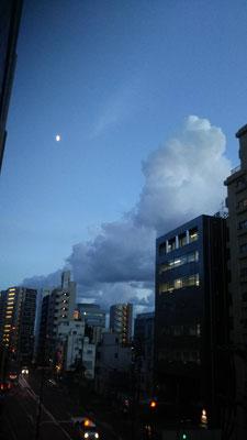 りえ&ゆうき/2020.08.27 18:22/東京、自宅ベランダ