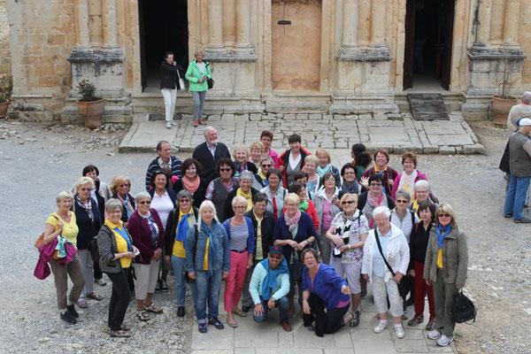 Besichtigung vom Kloster Arkadi