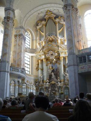 ... Taufgottesdienst in der Frauenkirche