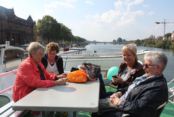 Schifffahrt nach Neckargemünd