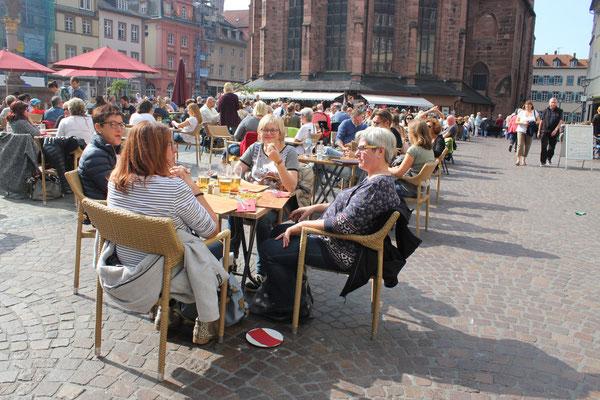 Entspannen in der Altstadt
