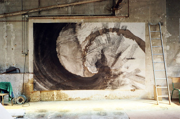 Prémonition, 240 x 400 cm