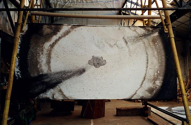 Le Passant, 240 x 500 cm