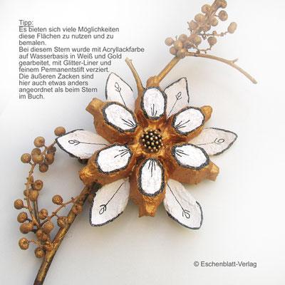 Zum Buch Edle Sterne - Kreatives aus Eierkarton S. 24