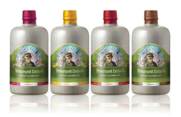 """Brand Adaption and Packaging Design """"Prinzregent Luitpold Feine Brände"""""""