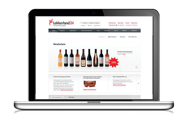 Brandsystem and Web Design