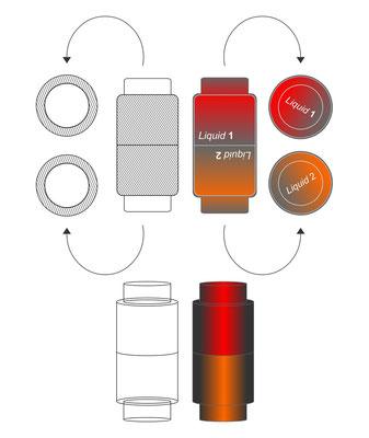 Planungsbüro Querdenker Geschmacksmuster 2 in 1 drink 2. Idee