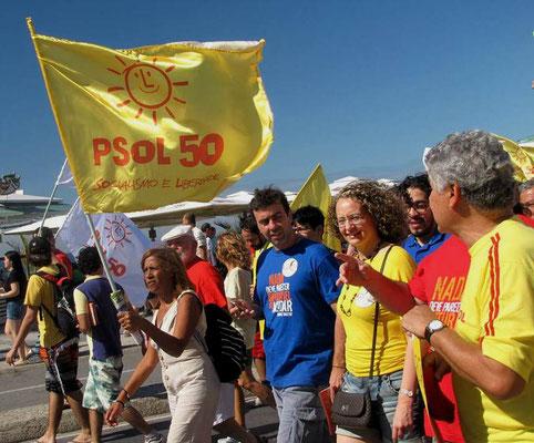 Venstremarxistisk parti hvis fremtrædende medlemmer er blevet ekskluderet af Arbejderpartiet - PT
