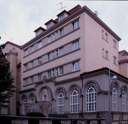 Folkebibliotek i 'Sandleitenhof' i Wien-Ottakring (16. distrikt)