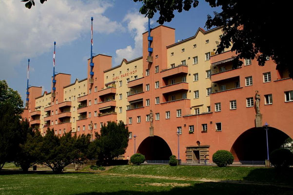 Karl-Marx Hof i Wiens 19. distrikt 'Döbling'
