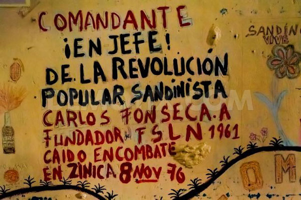 Remember the sandinistas-revolution - 1979!