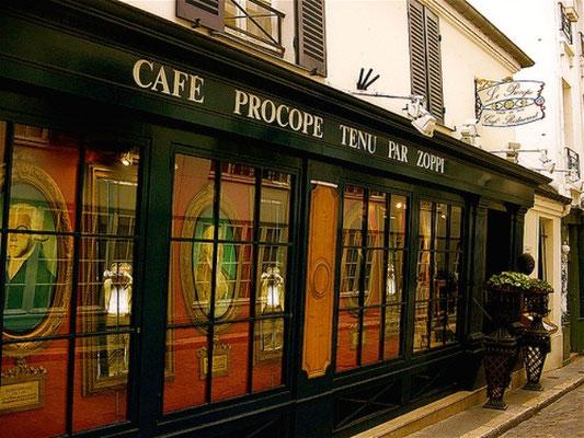 Café Procope, Paris