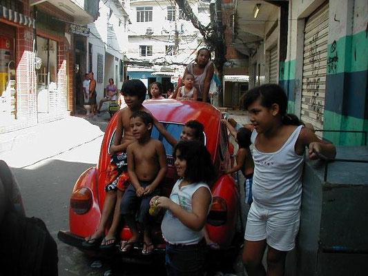 """Slumbeboere """"Favelas"""""""