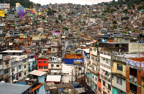 Favela i Rio de Janeiro