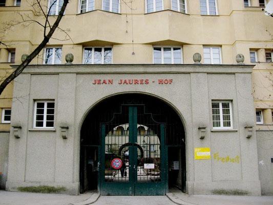 Jean-Jaures Hof i Wiens 10. distrikt Favoriten