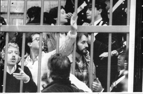 Brigate Rosse' s fange-kollektiver under deres proces i perioden 1977 til slutningen af 1980´erne