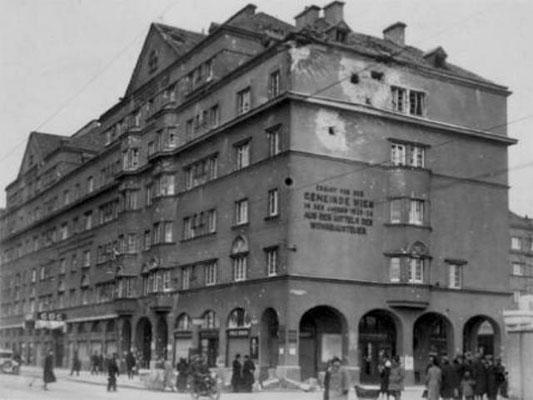 Schlingerhof, i Wiens 21. distrikt Floridsdorf