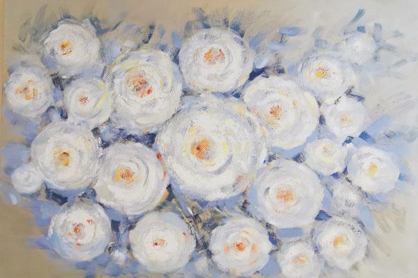 """""""Floral"""", 80x120cm, 219,-€"""