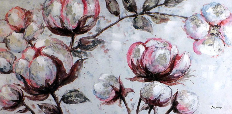 """Frühling"", Leinwand, Spannrahmen, 120 x 60 cm, 169,-€*"