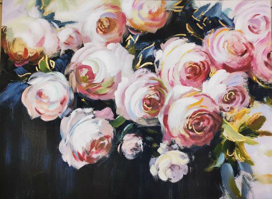 """""""Blumen"""", 90x120cm, 259,-€"""