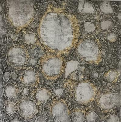 """""""Ein Traum in Grau"""", 120 x 120 cm, 499,-€"""