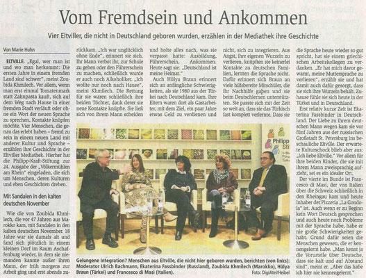 25. Januar 2019, Wiesbadener Kurier - Völkermühle: gelungene Integration