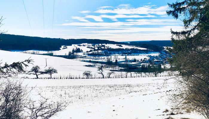 Panoramablick Richtung Schopfloch