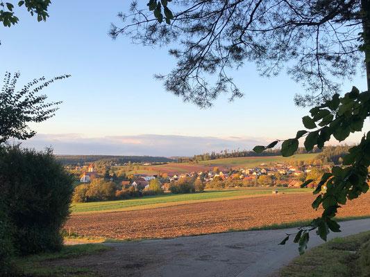 Herbstpanorame an der Riedhalde auf Tumlingen