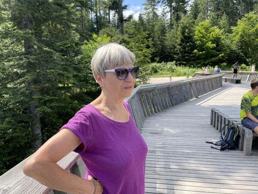 Schwester Christel Sturm ist wanderfest.