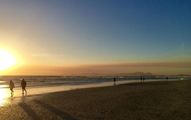 Am Strand von Strand (unterhalb Somerset West)