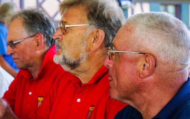 Wolfgang Mäder, Gerhard Grebe, Horst Kilian