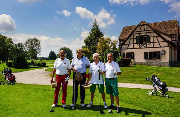 Dieter Klein, Joachim Selzer, Dieter Stöhr, Günter Züfle