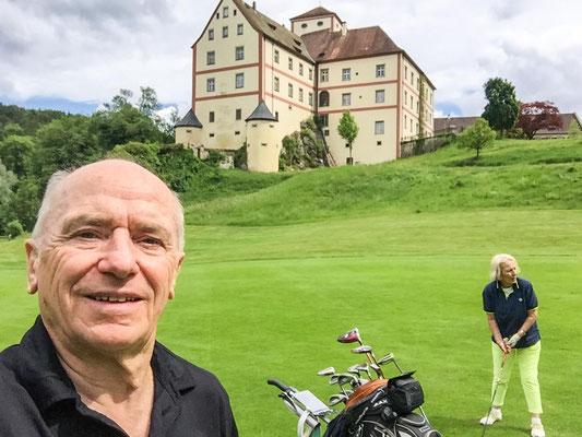Letztes Bild vor Schloss Langenstein.