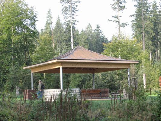 Der Gesundheits-Pavillon.