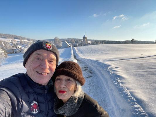 Winterspaziergang mit Ünsal