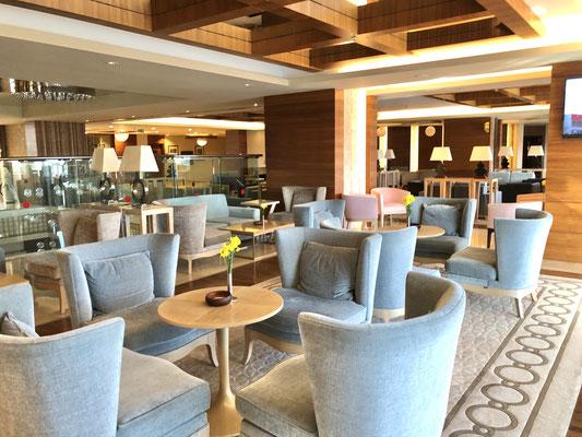 Sirene Lobby mit gemütlichen Sitzplätzen